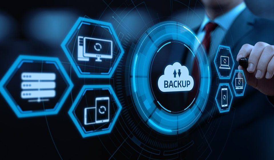 Backup de datos para empresa