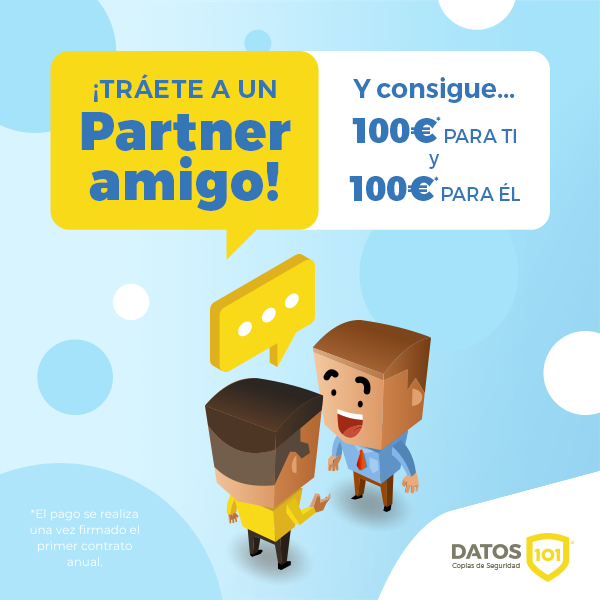 Campaña referido partners Datos101